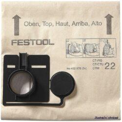 FESTOOL 452973 Filtrační sáčky FIS CT55/5-Filtrační sáčky