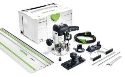FESTOOL 574375 OF 1010 EBQ SET Frézka horní 1010W - Horní frézka OF 1010 EBQ-Set