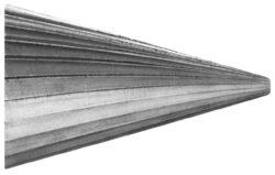 Fréza technická HSS 104/10 ČSN229310 DOPRODEJ-Technická fréza rašplovací s vnitřním závitem HSS, 229310, 104/10