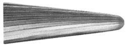 Fréza technická 105/11 ČSN229310 DOPRODEJ-Technická fréza rašplovací s vnitřním závitem HSS, 229310, 105/11