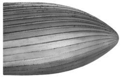 Fréza technická 106/10 ČSN229310-Technická fréza rašplovací s vnitřním závitem HSS, 229310, 106/10