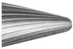 Fréza technická HSS 107/11 ČSN229310 DOPRODEJ-Technická fréza rašplovací s vnitřním závitem HSS, 229310, 107/11