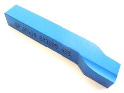 Nůž soustružnický ubírací stranový L 20X20X125 ČSN223525-Soustružnický nůž z rychlořezné oceli ubírací stranový, 223525, 20x20x125 mm