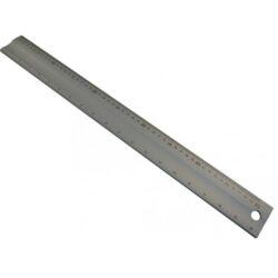 KMITEX 1009.1 Měřítko hliníkové s úkosem 1000x50x5 ČSN251112-Měřítko hliníkové s úkosem 1000x50x5mm