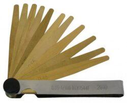KMITEX 1129.1 Měrka ventilová nemagnetická  0.05-1mm 100 DIN1544F-Měrka ventilová nemagnetická DIN 1544F 20ks lístků, 100mm, 0,05-1mm