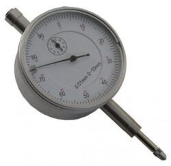 KMITEX 1155.4 Úchylkoměr číselníkový 60S 0-10 0.01 ČSN251811-Úchylkoměr číselníkový s ouškem