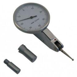 KMITEX 1156 Úchylkoměr číselníkový páčkový ČSN251820 horizontální-Úchylkoměr číselníkový páčkový - horizontální