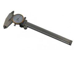 KMITEX 6013.1 Posuvné měřítko s úchylkoměrem 200/45 0.02mm ČSN251235 DIN862-Posuvné měřítko s číselníkovým úchylkoměrem