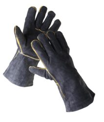 ČERVA 01020014 Rukavice svářečské SANDPIPER BLACK vel.11-Rukavice celokožené