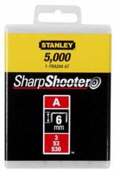STANLEY 1-TRA204T Spony LD balení 1000ks 6mm typ-A-LD sponky typ A 5/53/530