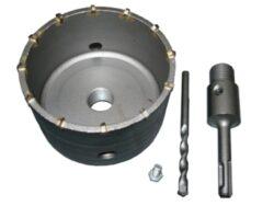 MAGG 27075110 Vrtací korunka D75mm L110mm SDS+-Příklepová vrtací korunka průměr 75mm se stopkou 110mm SDS+