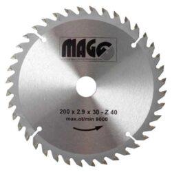 MAGG 9320040 Pilový kotouč HOBBY SK 200x2,9x30 40z-Pilový kotouč HOBBY SK 200x2,9x30 40z