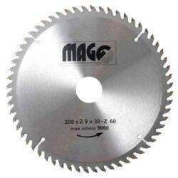 MAGG 9320060 Pilový kotouč HOBBY SK 200x2,9x30 60z-Pilový kotouč HOBBY SK 200x2,9x30 60z
