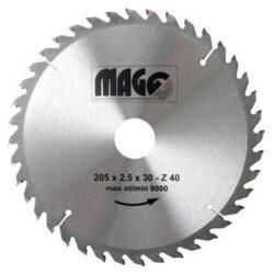 MAGG 9320540 Pilový kotouč HOBBY SK 205x2,5x30 40z-Pilový kotouč HOBBY SK 205x2,5x30 40z