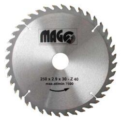 MAGG 9325040 Pilový kotouč HOBBY SK 250x2,9x30 40z-Pilový kotouč HOBBY SK 250x2,9x30 40z