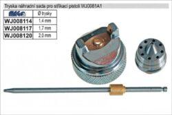 MAGG WJ008114 Sada tryska jehla 1,4mm-Sada jehla, vzduchový uzávěr, tryska