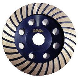 MAGG DBK-H125 Kotouč diamantový brusný 125x22,2mm na beton-Diamantový kotouč brusný MAGG
