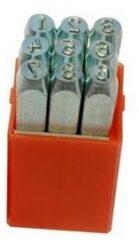 Raznice sada čísla 10mm levý ostrý profil PRAMARK 166300