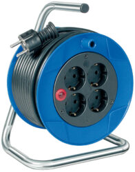 LOBSTER 101198 Kabel 15m na cívce 4zásuvky PVC 3G1,5mm Brennenstuhl-Kabel buben 15m 4x230V IP20