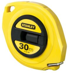 STANLEY 0-34-102 Pásmo 10m ABS uzavřené-Pásmo uzavřené s ocelovou páskou