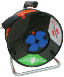 LOBSTER 101187 Kabel 25m na cívce 4zásuvky GUMA PI44 3G1,5mm Brennenstuhl-Kabel buben 25m 4x230V IP44