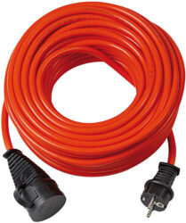 LOBSTER 101186 Kabel 10m prodlužovací GUMA IP44 3G1,5mm Brennenstuhl-Kabel prodlužovací 10m 1x230V IP44