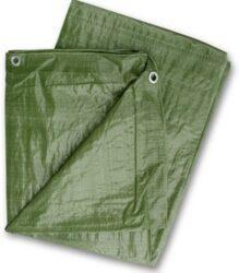 LOBSTER 102227 Plachta zakrývací zelená 4x6m 80gr