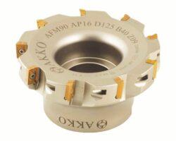Fréza AFM90-AP16-D80-A27-Z07-H AKKO-Fréza nástrčná čelní 90° AKKO MAKINA typ AFM90 AP..1604.. pr. 80mm, Z 7