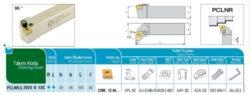 Nůž PCLNR 2020 K 12C AKKO-Soustružnický držák VBD PCLNR 2020 K 12 C