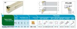 Nůž PCLNR 2525 M 12C AKKO-Soustružnický držák VBD PCLNR 2525 M 12 C