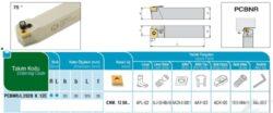 Nůž PCBNR 2020 K 12 C AKKO-Soustružnický držák VBD PCBNR 2020 K 12 C