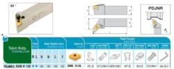 Nůž PDJNR 2020 K 15C AKKO-Soustružnický držák VBD PDJNR 2020 K 15 C