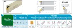 Nůž PSSNR 2020 K 12C AKKO-Soustružnický držák VBD PSSNR 2020 K 12 C