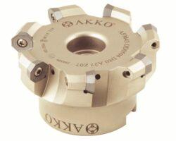 Fréza AFM43-OD0504-D63-A22-Z06-H AKKO-Fréza nástrčná čelní 43° AKKO MAKINA typ AFM63 OD..0504 pr. 63mm, Z 6