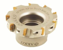Fréza AFM90-AP16-D160-C40-Z10 AKKO-Fréza nástrčná čelní 90° AKKO MAKINA typ AFM90 AP..1604.. pr. 160mm, Z 10