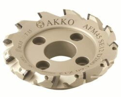 Fréza AFM45-SE12-D200-C60-Z12 AKKO-Fréza nástrčná čelní 45° AKKO MAKINA -typ AFM45 SE..12T3 pr. 200mm, Z 12