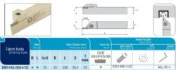 Nůž ADKT-I-R-2525-4-T22 AKKO