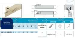 Nůž ADKT-I-R-1616-3-T15 AKKO