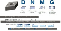 Destička DNMG 110404 NN LT 10 LAMINA