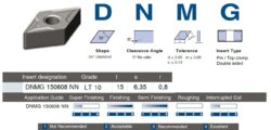 Destička DNMG 150608 NN  LT 10 LAMINA