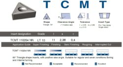 Destička TCMT 110204 NN LT10 LAMINA