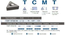 Destička TCMT 16T308 NN  LT 10 LAMINA