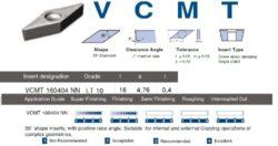 Destička VCMT 160404 NN  LT 10 LAMINA