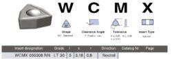 Destička WCMX 050308 NN LT30 LAMINA
