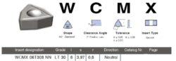 Destička WCMX 06T308 NN LT30 LAMINA