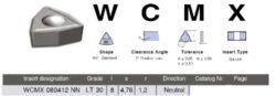 LAMINA Destička WCMX 080412 NN LT 30