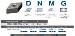 Destička DNMG 150612 NN LT 10 LAMINA