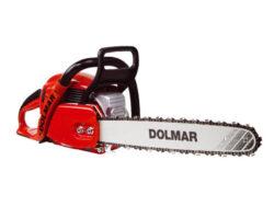 DOLMAR PS500C Pila řetězová motorová 380mm-Řetězová pila benzínová DOLMAR PS 500 lišta 38cm , 2.4kW