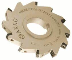 Fréza ASDM-CC09-D80x12-d27-Z08 AKKO-Nástrčná fréza kotoučová-drážkovací AKKO MAKINA typ ASDM-CC..09T3.. pr. 80mm, b 12,