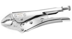 EXPERT E084808 Kleště samosvorné oblé 190mm-Upínací kleště s oblými čelistmi 190mm